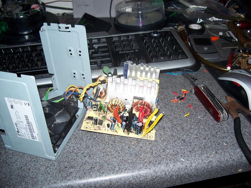 Step 1 - Open the power supply